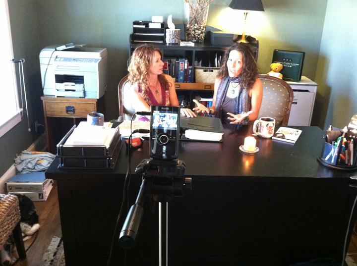 Shooting video for the Estate Planning Bootcamp with my best friend, Martha, at her home in Longmont, CO
