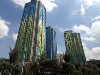 Skyscrapers in Bogota