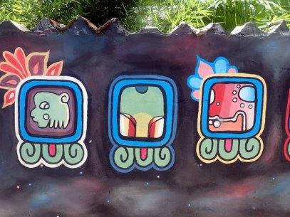 Graffiti on street