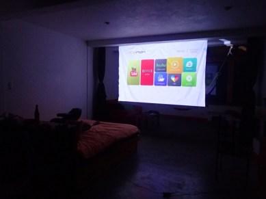 Full size screen