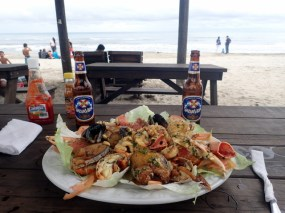 Lobster and seafood platter
