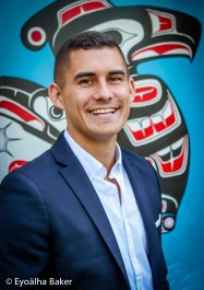 Tyson Atleo photographed by Eyoälha Baker for Dreaming in Indian www.annickpress.com/Dreaming-in-Indian