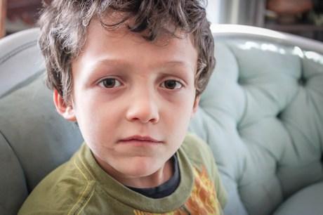 Candid kid portraits