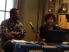 Toma Luntumbe Muteba and Michèle Magema