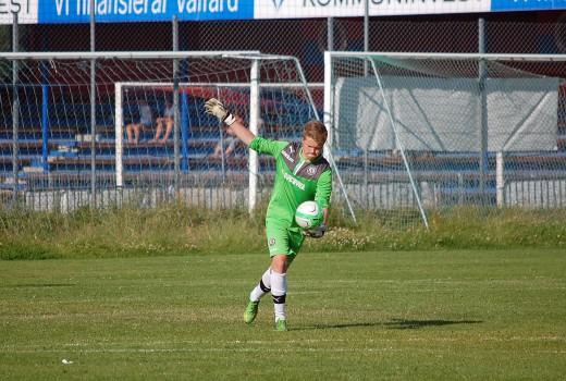 Adam Nilsson i ÖSK-målet stod för en bra insats.