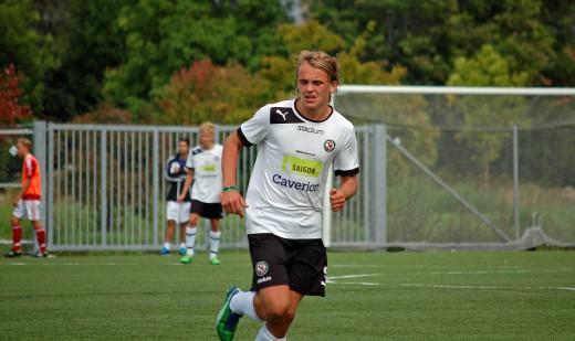 Carl Jägerhill hade bra fart under fötterna när Degerfors besegrades med 6-1.
