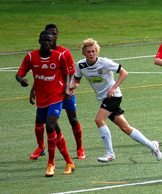 Felix Möller var med redan i fjolårsfinalen mot Karlslund. Då vann ÖSK med 3-2 efter att ha hämtat upp ett tidigt 0-2 underläge.