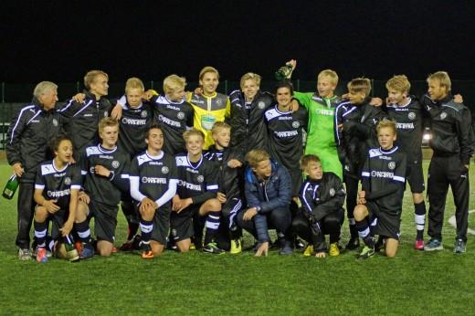 Seriesegrare i P15 Regional år 2013: Örebro SK