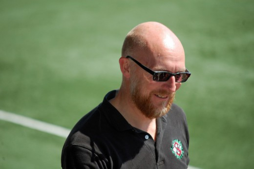 Jonas Ask: Sportchef med många järn i elden.