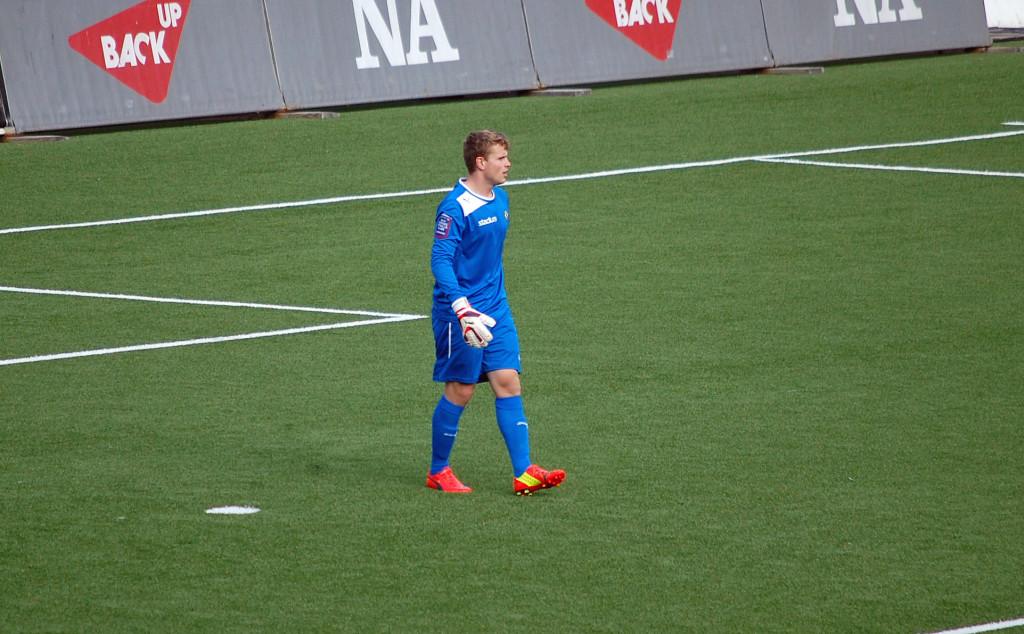 En stark insats av Marcus Elmersson i ÖSK-målet räckte den här gången inte till några U19-poäng.