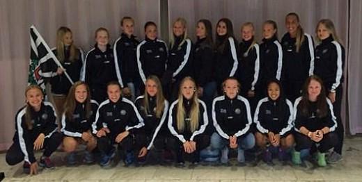 ÖSK Söders F17-lag i Gothia Cup. (Foto: Förmodligen Niclas Collgård)