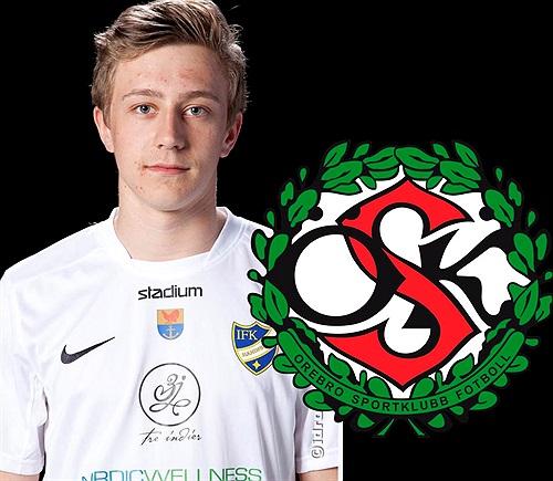 Simon Gefvert (Fotomontage: IFK Haninge)
