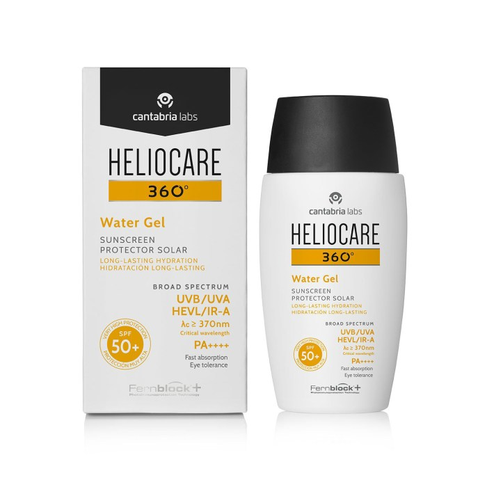 Heliocare 360 Water Gel Sunscreen SPF50