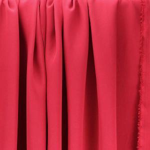 Tissus Tencel Edward Rouge © Eyrelles Tissus