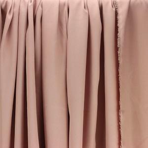 Tissus Tencel Edward Rose poudré © Eyrelles Tissus