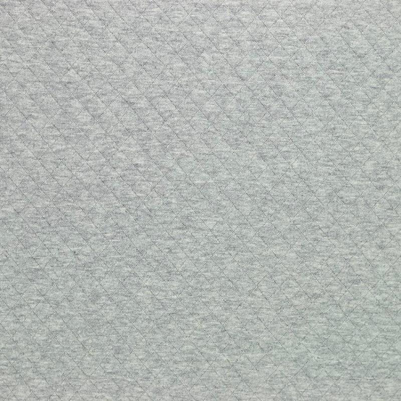 "Tissus Molleton ""Osange - Gris"" © Eyrelles Tissus"