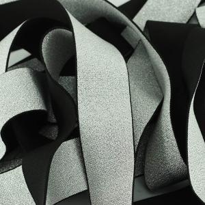 Mercerie élastique brillant argent © Eyrelles Tissus