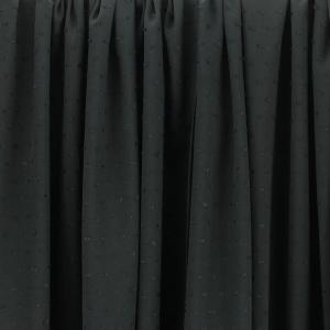"""Tissus Viscose """"Plumetis - Noir"""" © Eyrelles Tissus"""