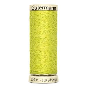 Fils Gütermann 100m couleur Jaune : 334 © Eyrelles Tissus