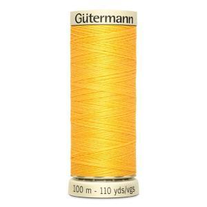 Fils Gütermann 100m couleur Jaune : 417 © Eyrelles Tissus