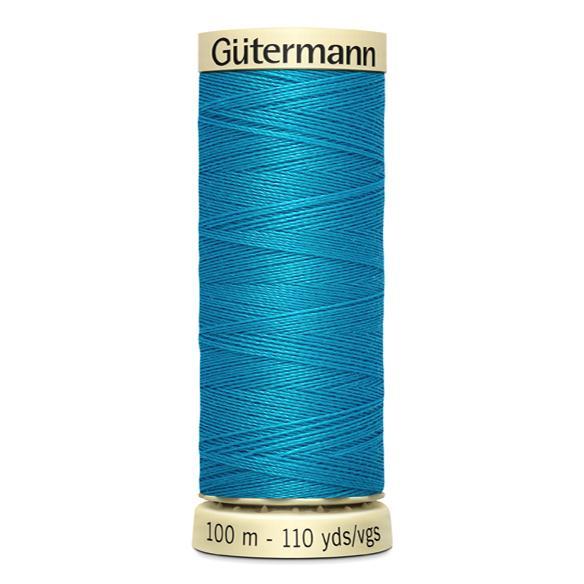 Fils Gütermann 100m couleur Bleu : 736 © Eyrelles Tissus
