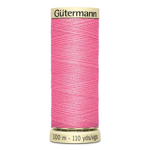 Fils Gütermann 100m couleur Rose : 758 © Eyrelles Tissus