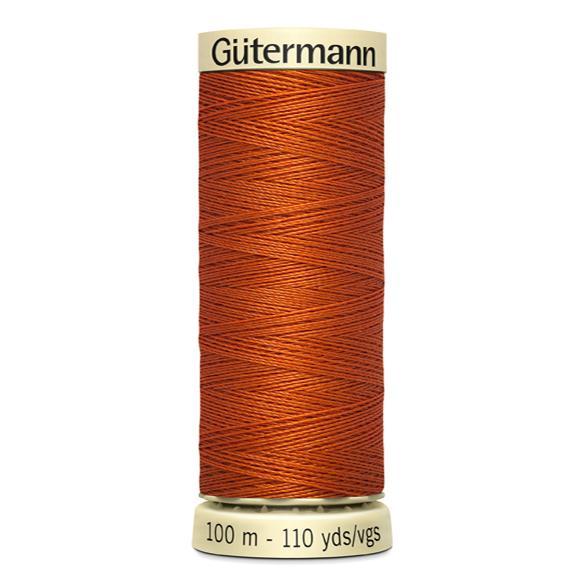Fils Gütermann 100m couleur Orange : 982 © Eyrelles Tissus