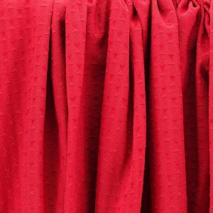 Piqué Réversible Constella rouge © Eyrelles tissus