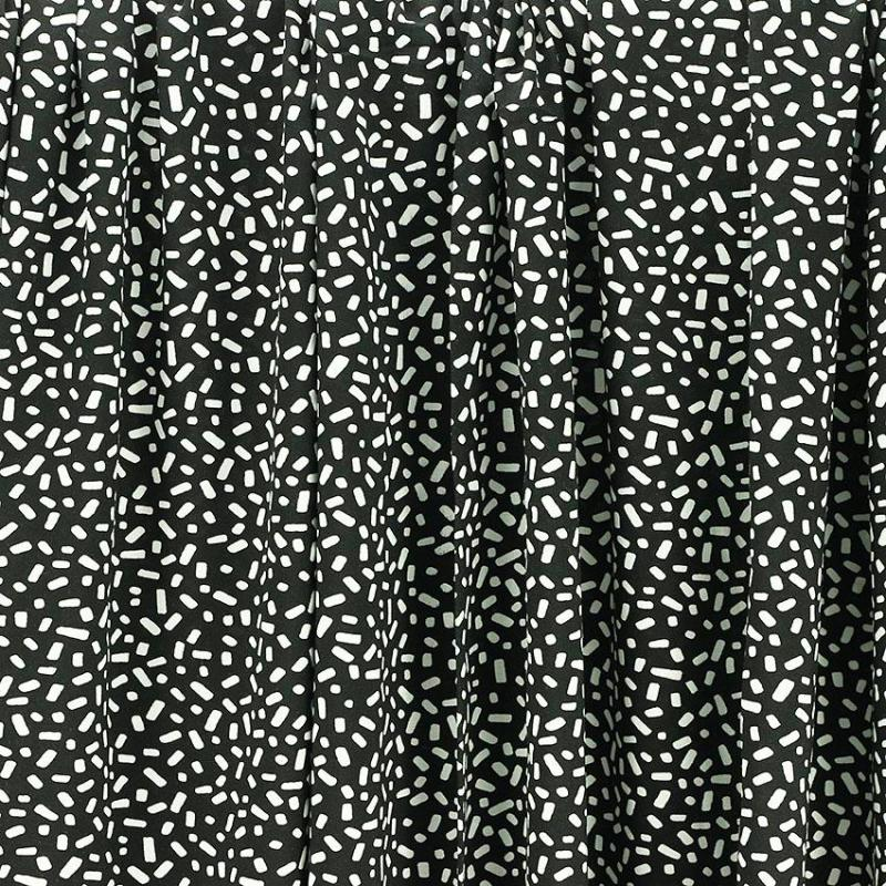 "Tissus Jersey de viscose ""Black & White"" © Eyrelles Tissus"