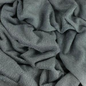 "Tissu éponge bambou Oeko Tex ""Bambou - Granite"" © Eyrelles tissus"