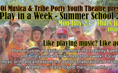 summer camp-a play in a week