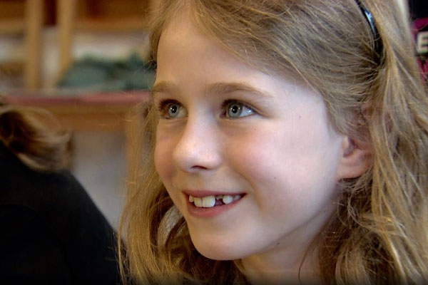 comedy kids appear on the BBC