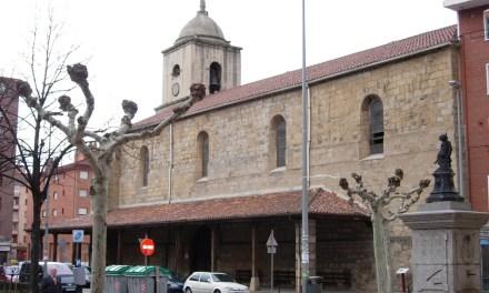 La iglesia de San Vicente y el monasterio de Burtzeña