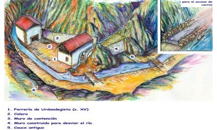 La ferrería de Urdandegieta, en Barakaldo y Galdames