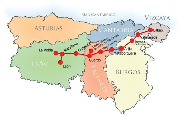 Ferrocarril hullero de La Robla a Valmaseda