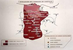 Evolución del Condado de Castilla