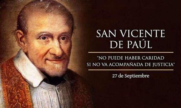 HOY (27 de septiembre): SAN VICENTE DE PAÚL
