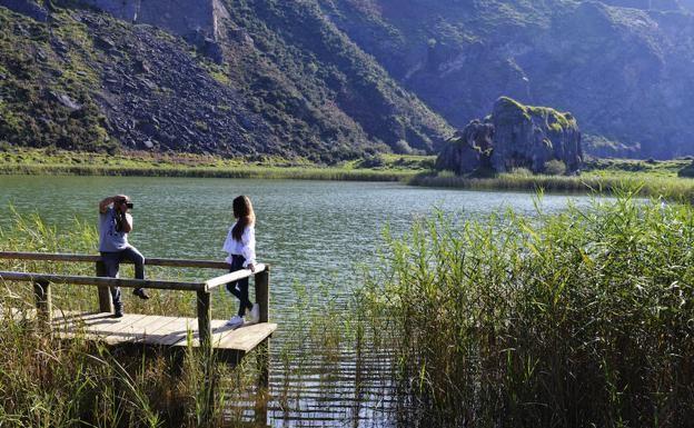 La Arboleda: rutas por una montaña de hierro