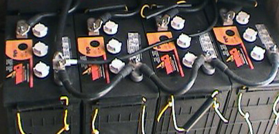 12v Deep Cycle Lead-Acid Battery Bank