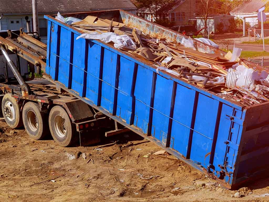 dumpster roll off and pick up services