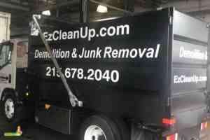 EZ CleanUp truck