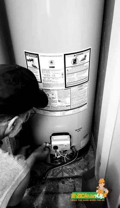 EZ Clean-Up Water Heater Disposal