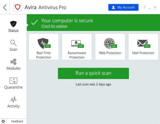 Avira Antivirus Pro Crack - EZcrack.info