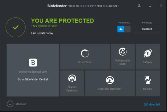 Bitdefender Total Security Crack - EZcrack.info