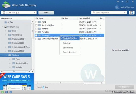 Wise Data Recovery Crack - EZcrack.info