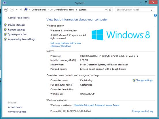 Windows 8.1 Product Key - EZcrack.info