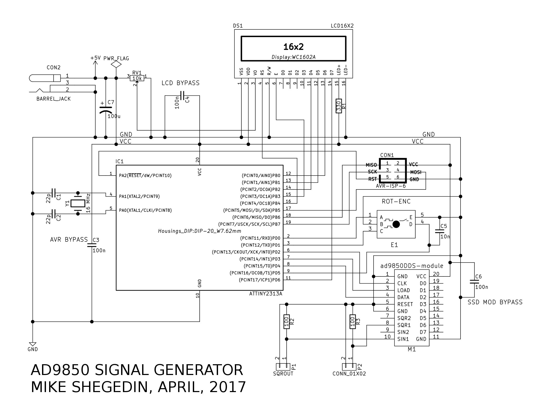 Ad Based Signal Generator At Ezdenki
