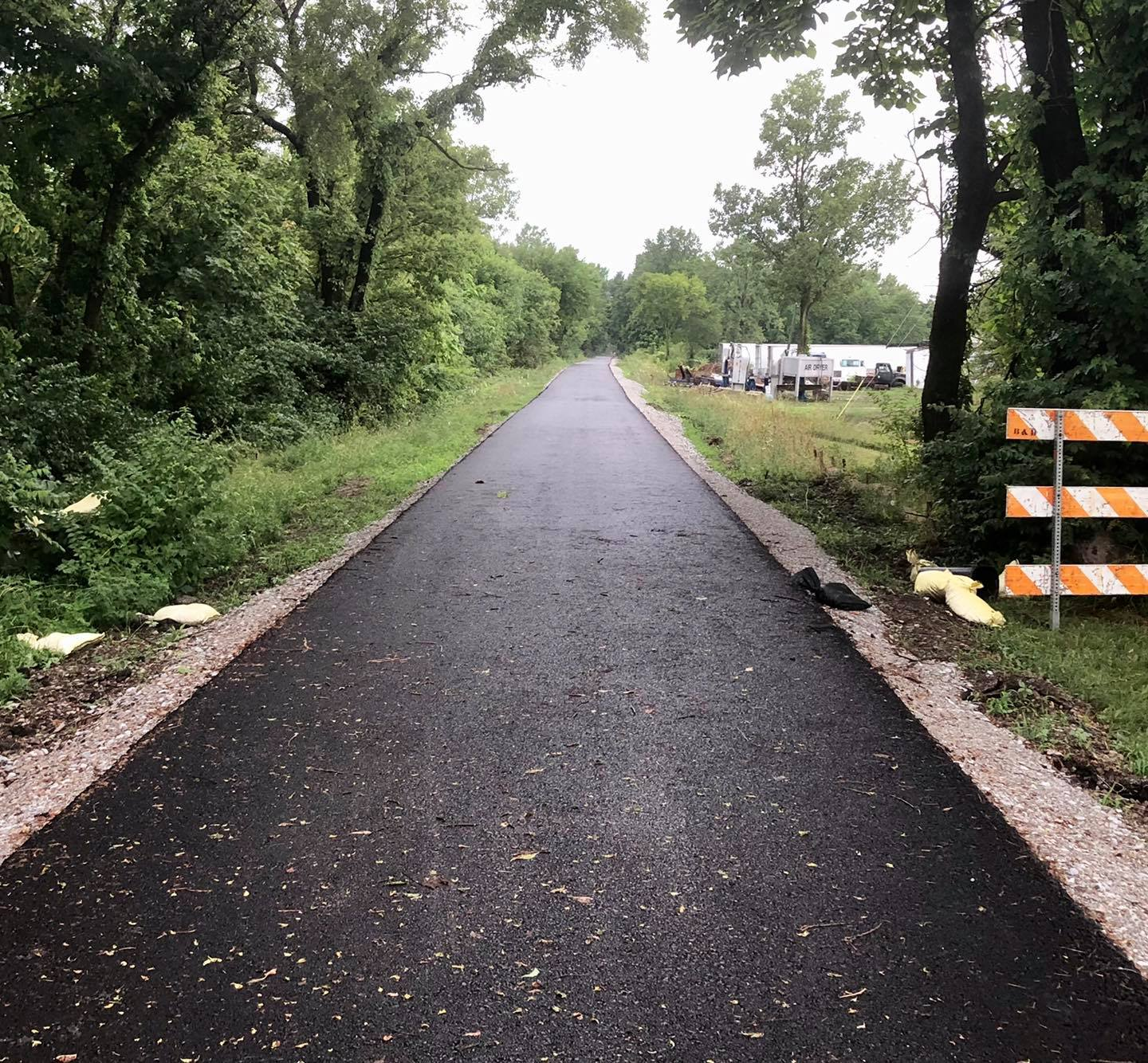 The Pennsy Trail in Indianapolis, Indiana - A great trail to ride e-bikes!