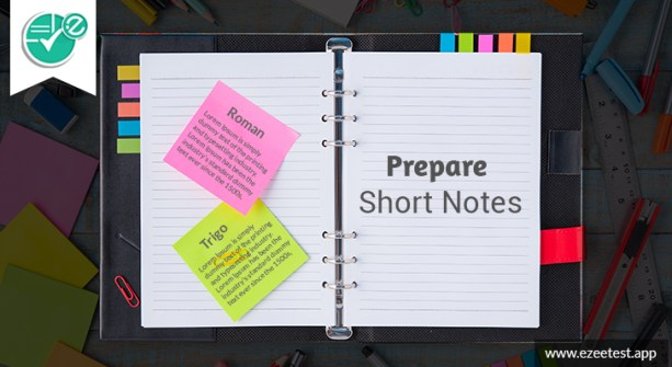 how to prepare notes