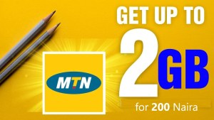 How to get 2GB for 200 Naira on MTN Nigeria (Night plan)